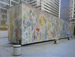 Chagall, monument, Chicago